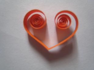 open hartvorm/ open heart/ coeur ouvert