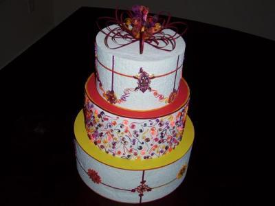 weddingcake/ gateau de mariage/ trouwtaart
